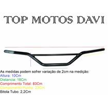 Guidao Moto Honda Xl / Xlx 250 Preto
