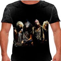 Camiseta Rock Guns N Roses Original Formation Masculina