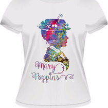 Camiseta Baby Look Mary Poppins