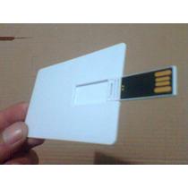 2 Pen Drive Cartão Liso Pen Card 8gb Para Personalizar