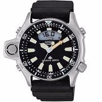 Relógio Citizen Aqualand Jp2000-08e Edição Prata Limitada Nf