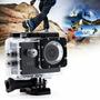 Action Cam Go Sports Pro 1080p Hd Prova D'agua Pronto Entreg