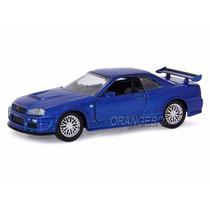 Nissan Gtr Skyline Velozes E Furiosos Jada Toys 1:32 97185