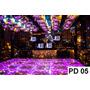Painel Em Lona Pista De Dança 05- 3:50 X2:00mt 1 Peça