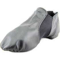 Capezio Estiramento Jazz Sapatos De Dança De Couro W