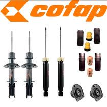 Kit 4 Amortecedores Palio 1.3 2001/ Cofap + Kits + Coxim