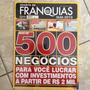 Revista Anuário De Franquias Guia 2013 N8 500 Negócios