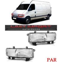 Par Farol Renault Master Ano 2004 2005 2006 2007 2008 2009