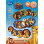 Jogo Baralho Redondo Cookie Cards Rei Leão Disney - Jak