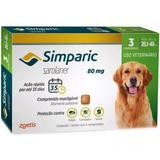 Antipulga Simparic 80 Mg 20 A 40 3 Comprimidos