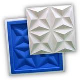 Forma Gesso 3d - Ref.38 -  38,5x38,5 Cm Plástico + Eva
