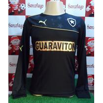 Busca camisa Botafogo Goleiro com os melhores preços do Brasil ... 18841d0e87acf