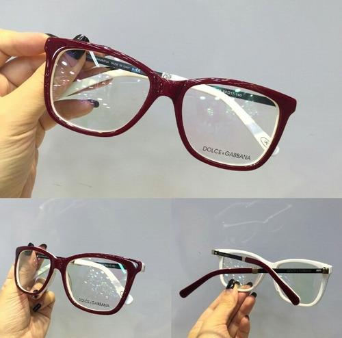 Óculos Armação De Grau Gatinho Acetato Frete + Brinde 3a349b2af9
