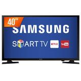 Smart Tv Led 40  Samsung Full Hd 2 Hdmi Usb Wi-fi Un40j5200