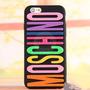 Capa Case Capinha Moschino Letras Coloridas Iphone 4/4s