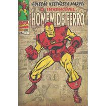 Colecao Historica Marvel 03 Homem De Ferro Bonellihq Cx327
