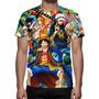 Camisa, Camiseta Anime One Piece - Estampa Total