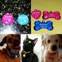 Plaquinha De Identificação Pet  Cães E Gatos Frete 7 Reais