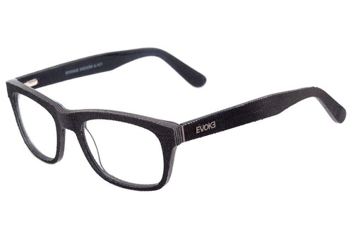 168cd771df052 0evoke Denim 02 - Óculos De Grau A01 Black Matte