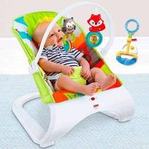 Cadeirinha Bebê Descanso Vibratória Amigos Fisher Price