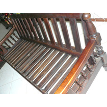 Conjunto Estrutura Sofá Antigo Decada De 40 Jacaranda