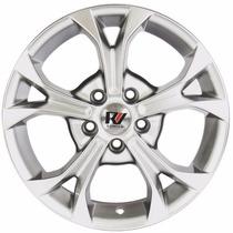 Ramlowp580 New Civic Prata/diamantada 5x114
