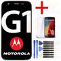 Tela Display Touch Lcd Moto G1 + Pelicula + Kit Ferramenta