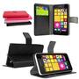 Capa Lumia 950xl Carteira De Couro Sintetico