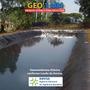 Geomembrana Lago Ornamental Psicultura Tanque Agua Viveiro M