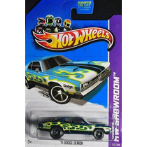 71 Dodge Demon Super Thunt Hotwheels 2013 Lacrado