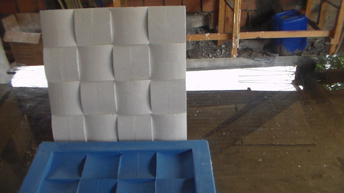 Forma Para Fundir Mosaico Em Gesso Modelo Almofada 27x27