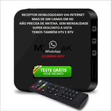 Aparelho Receptor Smart Tv Box 32gb 4gb Ram De Canais