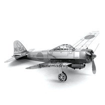 Mini Quebra Cabeça 3d De Metal - Avião - Mitsubishi Zero
