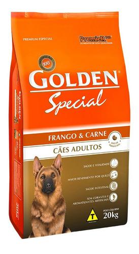 Premierpet Golden Premium Especial Special Cachorro Adulto - Frango/carne - 20 Kg - Saco