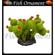 Enfeite De Silicone Soma Alga Bulbo Mar Verde Fish Ornament