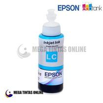 Refil Tinta Epson Cyan Light P/ Impressora L200 L355 L800