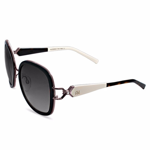 cb2475da5961e Oculos De Sol Original Ana Hickman Feminino Preto Marron