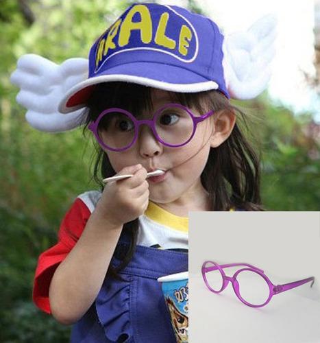8c0b91391aedf Armação Óculos De Grau Acetato Redondo Roxo Infantil