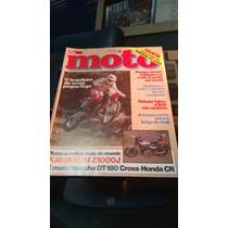 Revista Moto Quatro Rodas 1982