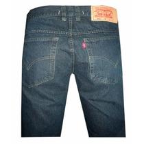 Calça Jeans Levis Strauss 501 Azul Escuro