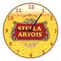 Relógio Parede--cerveja Stella Artois Em Mdf-churrasco