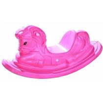 Gangorra Cavalinho Balanço Infantil Rosa - Preço De Fabrica