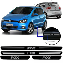 Jogo Soleira Resinada Volkswagen Fox 4 Portas 2015/...