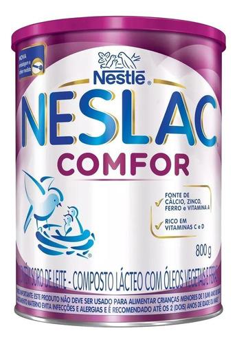Fórmula Infantil Em Pó Nestlé Neslac Comfor Em Lata De 800g