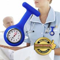 Relógio De Bolso Lapela Jaleco Quartz (médico E Enfermagem)