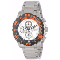 Relógio Invicta 7334 Signature Ii Chronograph Mens Original
