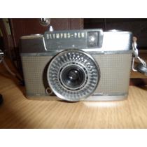 Maquina Fotografica Olympus-pen Ee-2 + Flash