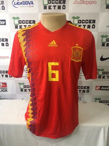 Camisa Espanha Copa Do Mundo 2018 Iniesta 6 4032506ae5441