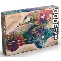 Quebra Cabeça Puzzle 3000 Peças Vintage Car Fusca - Grow