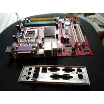 Placa Mãe Pm8m2-v Para Processadores Intel Soquete 775